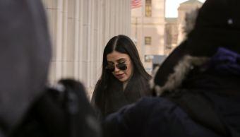 Emma Coronel hace sesión de fotos para periódico Nueva York
