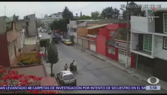 Foto: Ladrones asaltan a mujer en Naucalpan, Estado de México