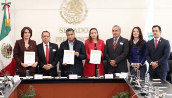 ley accidentes viales senado, propuesta, Twitter, @senadomexicano, 11 febrero 2019