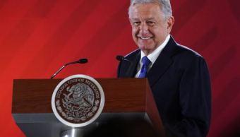 Foto: El presidente de México, Andrés Manuel López Obrador, durante su conferencia matutina, 13 febrero 2019