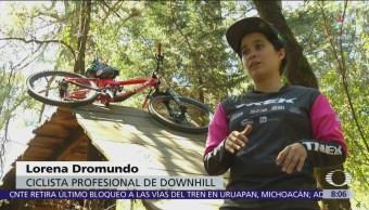 Lorena Dromundo, una de las 15 mejores deportistas de 'Downhill'