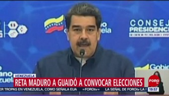 Foto: Maduro Reta Guaidó Convocar Elecciones Venezuela 19 de Febrero 2019