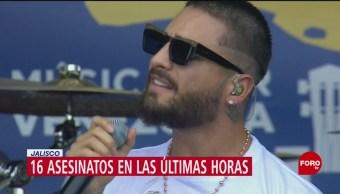 Foto: Maluma participa en concierto humanitario por Venezuela