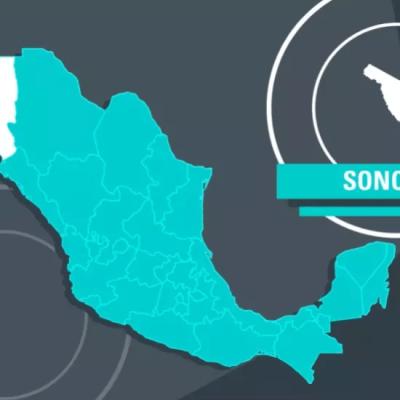 Imagen: Mapa de Sonora, República Mexicana