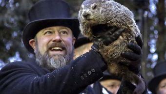 Foto: La marmota Phil, el animal meteorólogo más famoso del mundo, 2 febrero 2019