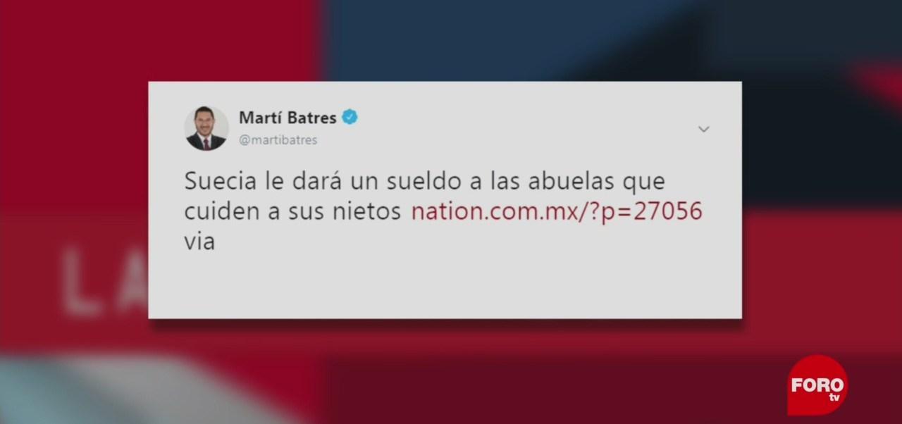 FOTO: Martí Batres y la paparrucha del día, 13 FEBRERO 2019