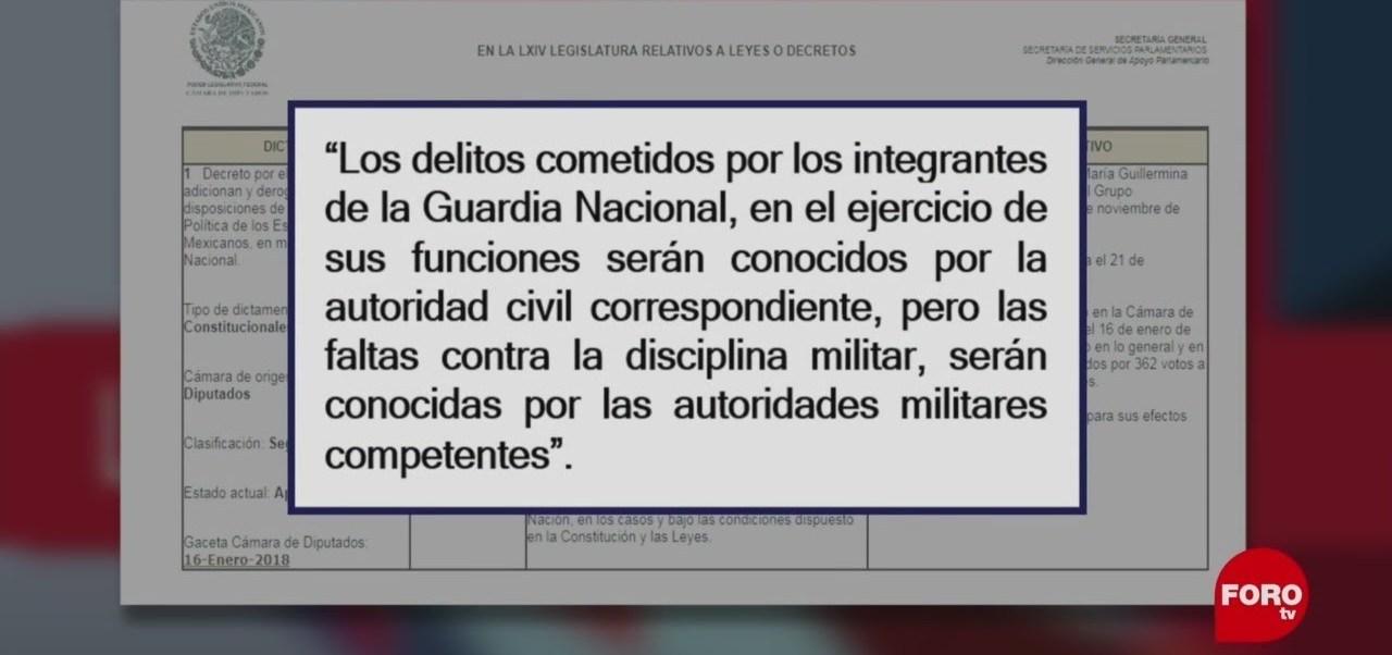 Foto: Fuero Militar Guardia Nacional Paparrucha Día 6 Febrero 2019