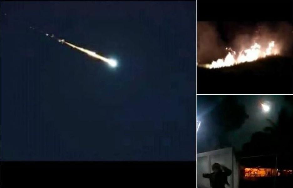 Meteorito En Valencia: Video: Cae Meteorito En Venezuela Y Provoca Incendios