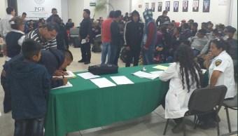 Foto: Migrantes rescatados en Chiapas, 26 de febrero 2019. Twitter @Cintalapanecos