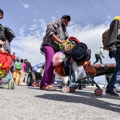 Más de mil migrantes permanecen en albergue de Piedras Negras, Coahuila