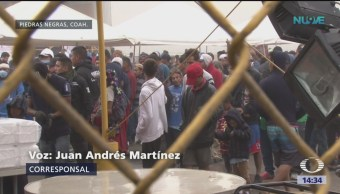 Foto: Migrantes se acercan a la frontera con Estados Unidos