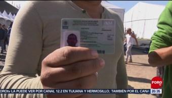 Foto: Migrantes Solicitan Visa Humanitaria México 01 de Febrero 2019