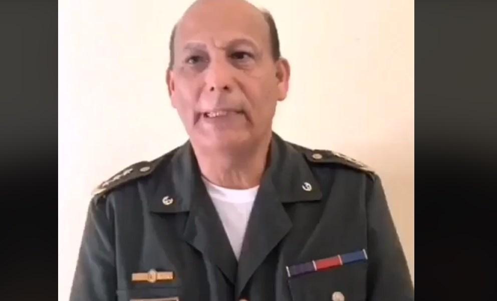 Resultado de imagen para El coronel activo del Ejército Rubén Paz Jiménez manifestó a través de las redes socialesque desconocía a Maduro