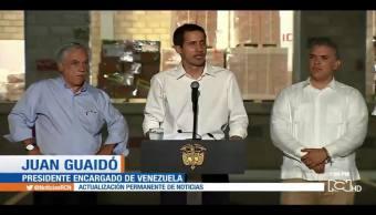 Foto: Militares Ayudaron Guaidó Concierto Venezuela 22 de Febrero 2019