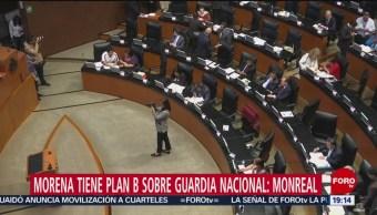 Foto: Morena Plan B Guardia Nacional Monreal 20 de Febrero 2019