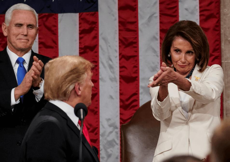 FOTO Trump usó miedo a migrantes en discurso del Estado de la Unión washington 5 febrero 2019