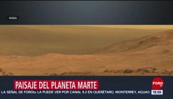 Foto: NASA difunde paisaje de Marte