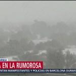 Foto: Nevadas en Baja California y Durango