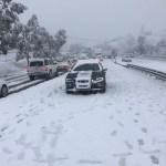 Foto: Nevadas en Sonora, 22 de febrero 2019. Twitter @uepcsonora
