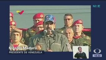 FOTO: Nicolás Maduro calificó de 'pelele' a Pedro Sánchez, 4 febrero 2019
