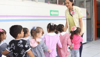 Foto: Niños en guardería del IMSS, México