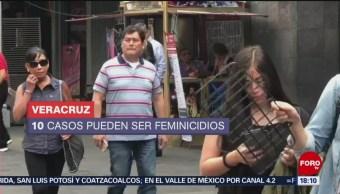 Foto: No disminuyen los feminicidios en Veracruz
