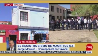 No se reportan daños en Oaxaca por sismo de magnitud 6.5