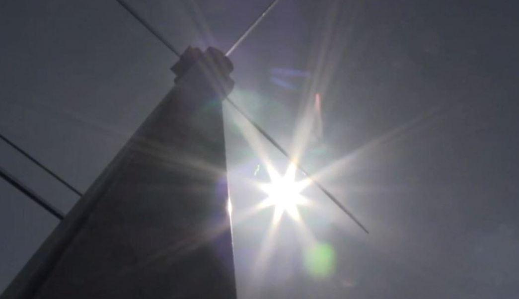 Foto: Radiación solar alta, 2 de marzo 2019