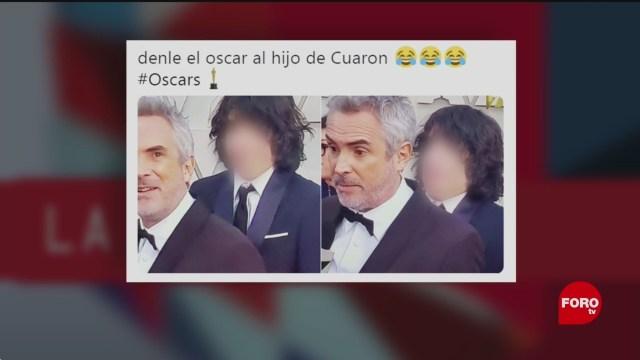 Foto: Olmo Cuarón Yalitza Racismo Oscar 25 de Febrero 2019