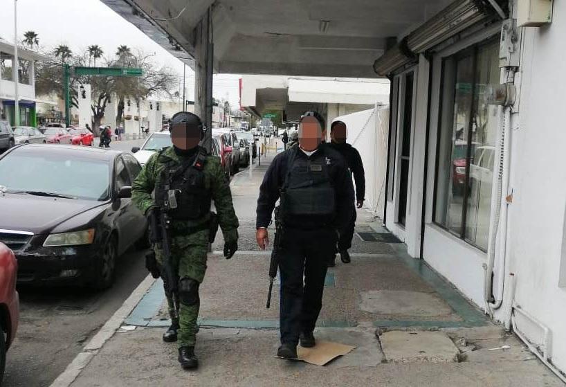 Operativo de seguridad en Nuevo Laredo, Tamaulipas. 31 de enero 2019. Twitter @SSP_GobTam