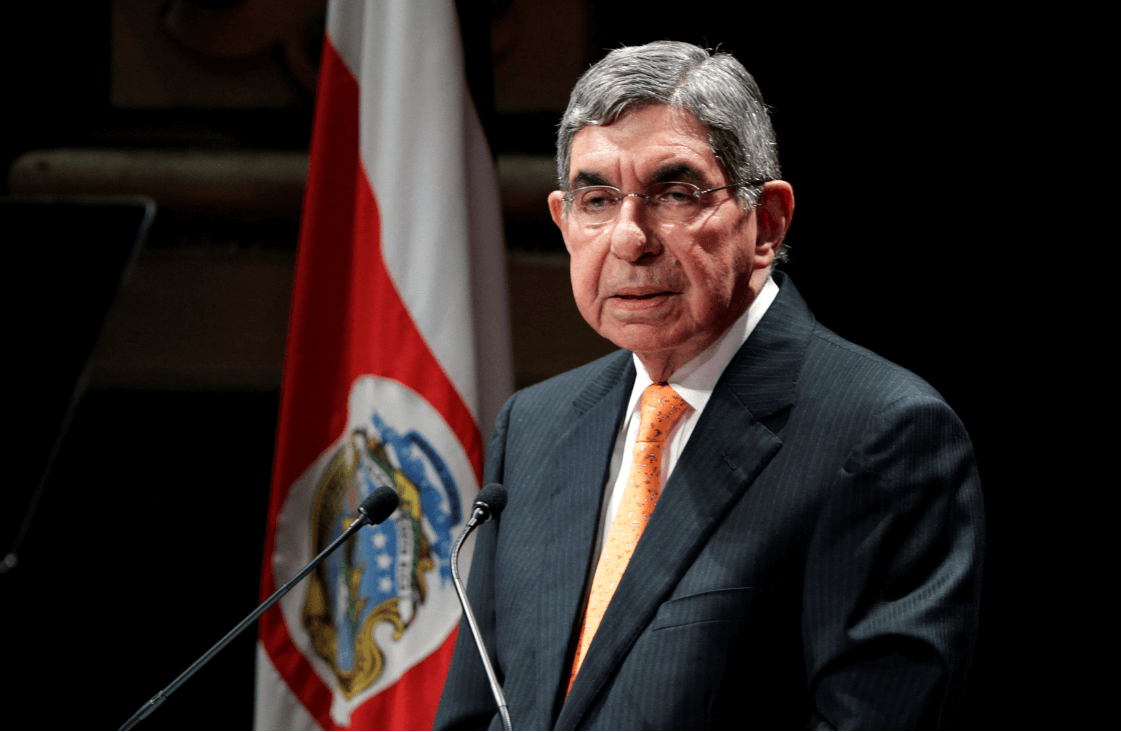 Foto: Óscar Arias, expresidente de Costa Rica, 12 de septiembre de 2012, Costa Rica