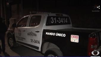 Foto: Patrulla en Naucalpan, Estado de México, 12 de febrero 2019, México