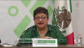 Foto: PGJCDMX Clasifica Mal Carpetas Investigación Criminalidad 19 Febrero 2019
