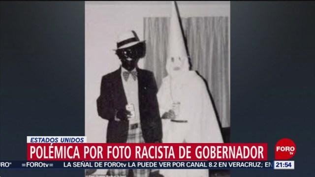 Foto: Foto Racista Gobernador Virginia 01 de Febrero 2019