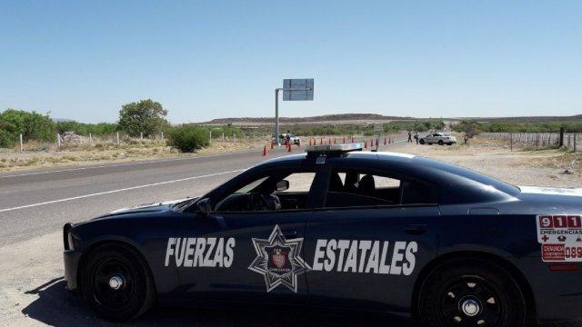 Foto: Operativo de seguridad en Chihuahua, 26 de febrero 2019. Facebook (Comisión Estatal de Seguridad Chihuahua)
