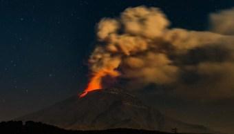 Volcán Popocatépetl: Prevén actividad por formación del domo 82