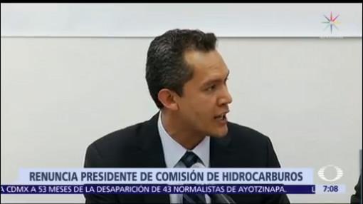 Presidente de Comisión de Hidrocarburos envía renuncia al Senado