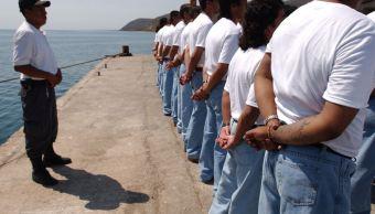 Foto: Presos en penal de Islas Marías, el 18 de febrero de 2019