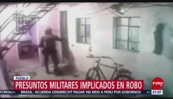 Foto: Video Militares Implicados Robo Puebla15 de Febrero 2019