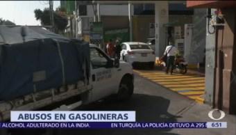 Profeco atiende quejas por abusos en gasolinera