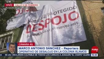 Foto: Realizan desalojo de inmueble en alcaldía Benito Juárez