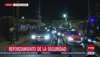 Foto: Operativos Seguridad Iztapalapa 19 de Febrero 2019