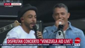 Foto: Recaudan ayuda para Venezuela con un concierto masivo