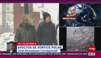 FOTO: Recuento de daños por vórtice polar en Estados Unidos, 2 febrero 2019