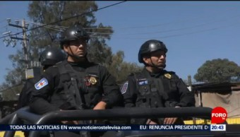 Foto: Refuerzan Seguridad Iztapalapa CDMX 19 Febrero 2019