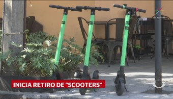 Foto: Retiran Scooters Empresa Grin Ciudad De México 14 de Febrero 2019