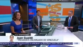 Reto de elecciones es 'chantaje' de Maduro, dice Juan Guaidó en Despierta