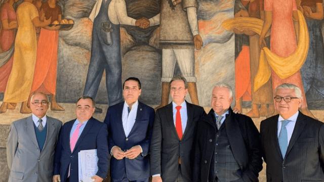 FOTO CNTE, SEP y Michoacán inician mesa de negociación CDMX 31 enero 2019