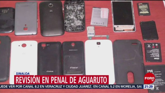 FOTO: Revisión en penal de Aguaruto en Sinaloa, 17 febrero 2019