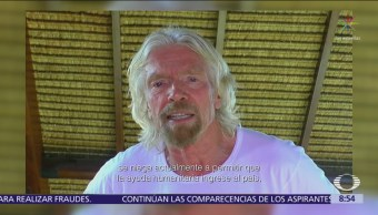 Richard Branson buscará enviar ayuda humanitaria a Venezuela